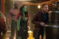 Peter, Gamora, and Drax