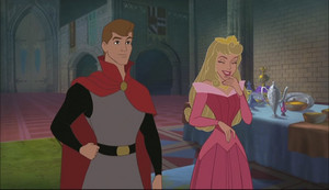 Phillip and Aurora in encantada Tales