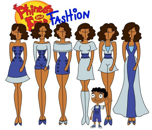 飞哥与小佛 壁纸 possibly with 日本动漫 titled Phineas and Ferb fashion: Baljeet