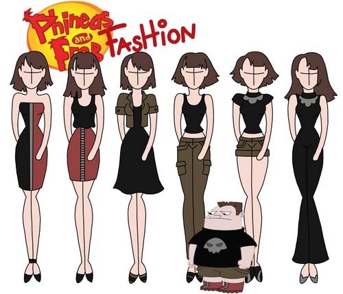 飞哥与小佛 壁纸 entitled Phineas and Ferb fashion: Buford