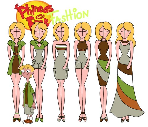 phineas y ferb fondo de pantalla called Phineas and Ferb fashion: Jeramy