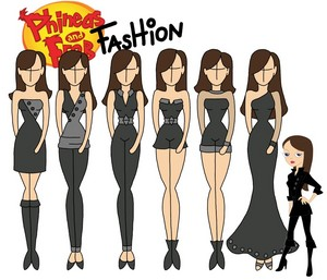 Phineas and Ferb fashion: Vanessa