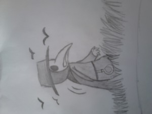 Plague doctor drawing attempt
