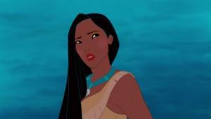 Pocahontas' gazer look