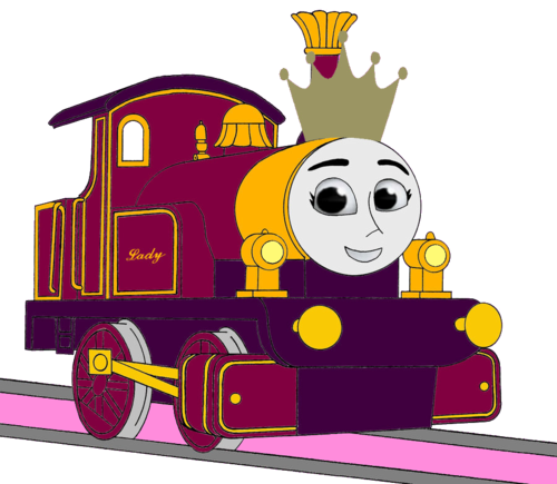 Thomas the Tank Engine achtergrond possibly containing a sign and anime entitled Princess Lady