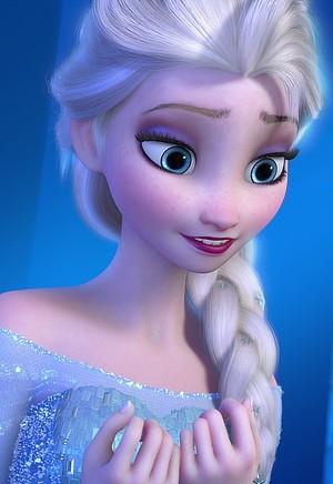 queen Elsa Smiling