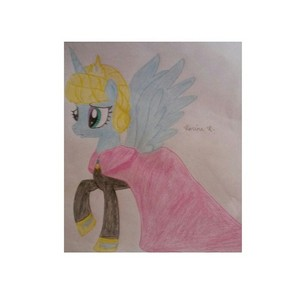 Queen Elsa as a pony Drawing