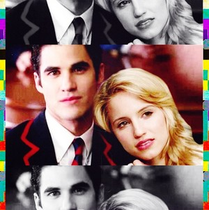 Quinn and Blaine