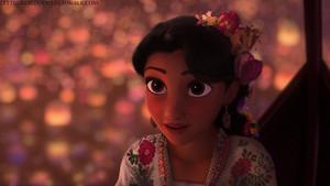 Racebent Rapunzel