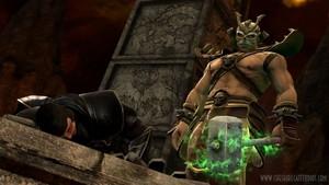 Raiden and Shao Khan: Mortal Kombat