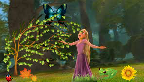 Rapunzel With Nature