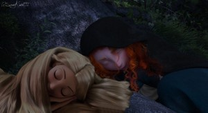 Rapunzel and Merida - Best Friends