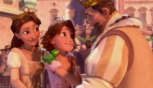 Rapunzel and her Parents