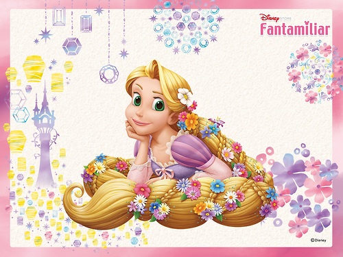 Disney Princess wolpeyper called Rapunzel:)