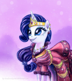 Rarity Gala Potrait