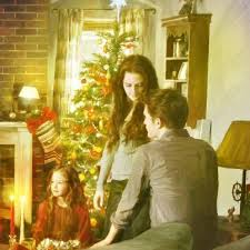 Renesmee,Bella and Edward Cullen