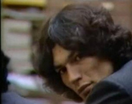 Serial Killers Hintergrund probably with a portrait titled Richard Ramirez
