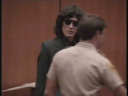Serial Killers wallpaper probably with a business suit titled Richard Ramirez