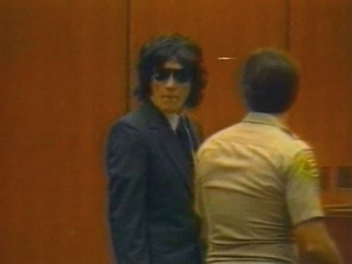 Serial Killers wallpaper probably with a business suit entitled Richard Ramirez