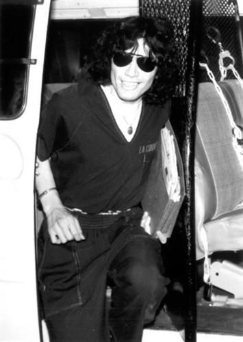 Serial Killers 바탕화면 possibly containing sunglasses entitled Richard Ramirez