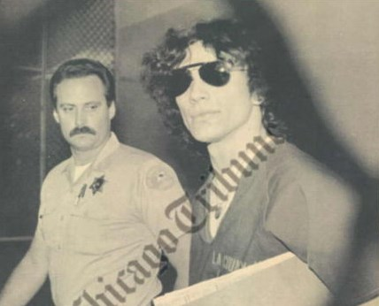 Serial Killers wallpaper with sunglasses called Richard Ramirez
