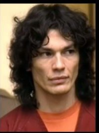 Serial Killers Hintergrund with a portrait called Richard Ramirez