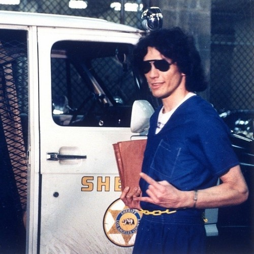 Serial Killers wallpaper possibly with a street, sunglasses, and an automobile called Richard Ramirez
