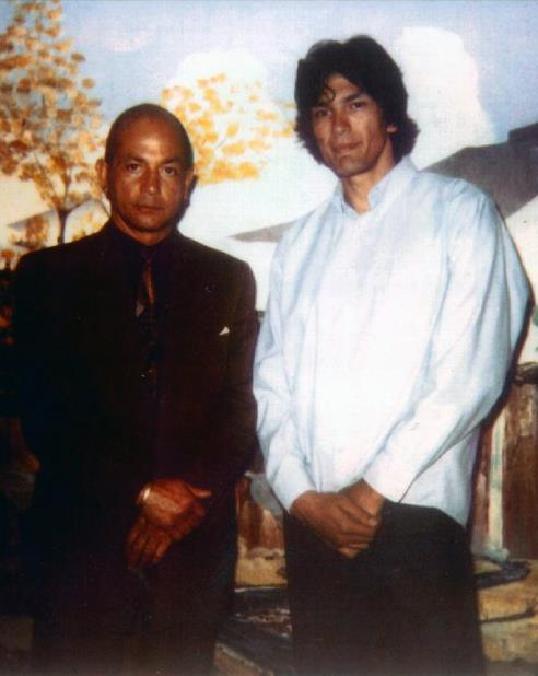 Richard Ramirez with author, Philip Carlo