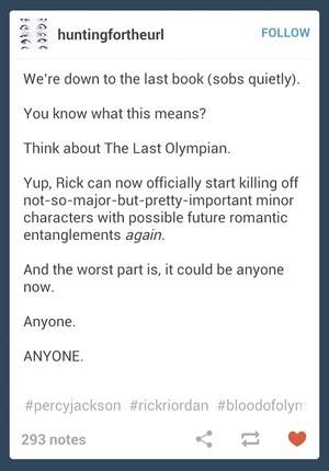 Rick potentially killing off characters in Blood of Olympus DX