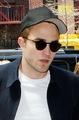 Rob in NY on June 19,2014 - robert-pattinson photo