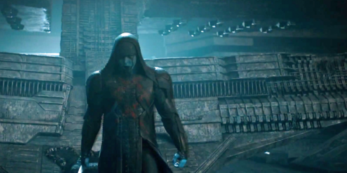 Guardians of the Galaxy 바탕화면 possibly containing a 망토, 망 토 and a capote entitled Ronan The Accuser