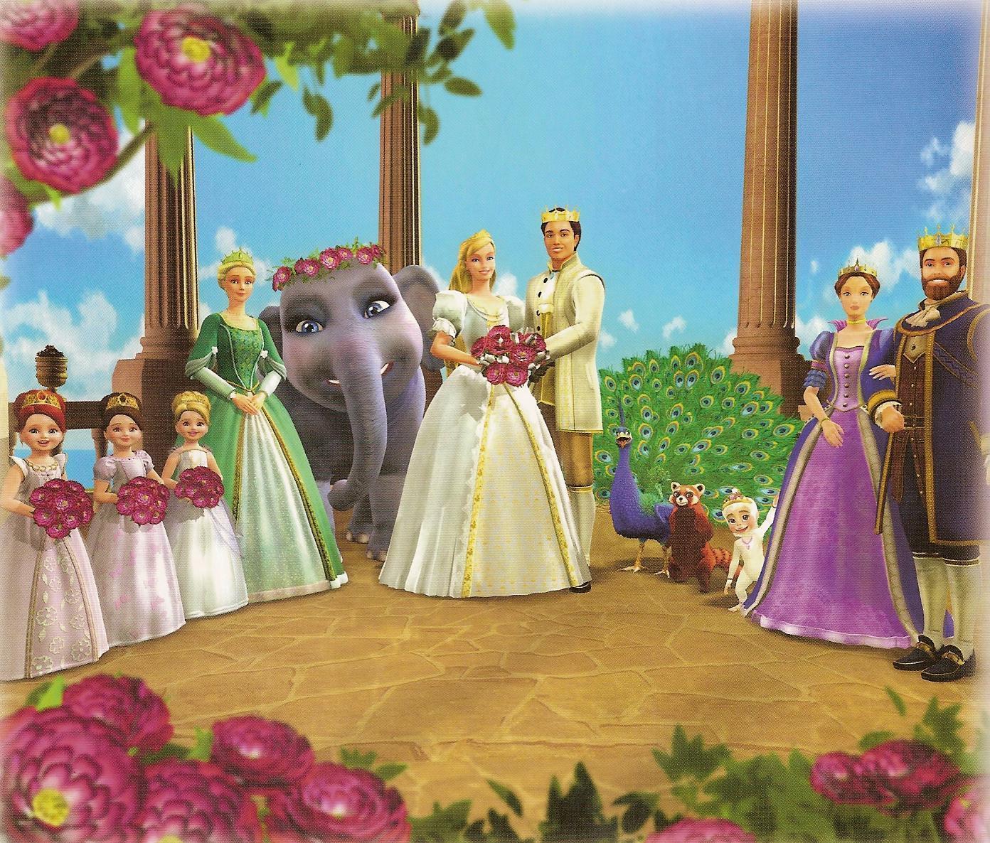 Смотреть барби принцесса острова 6 фотография