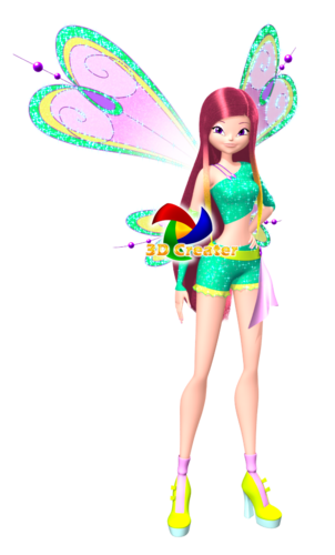 o clube das winx wallpaper titled Roxy: 3D Believix