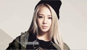 SNSD Hyo 2014 calender