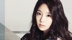 SNSD Taeyeon 2014 calender