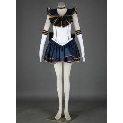 Sailor Moon Sailor Pluto Meiou Setsuna Living Theatre Cosplay Costume