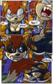 Sally Acorn werewolf transformation part 5
