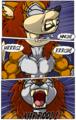 Sally Acorn werewolf transformation part 7