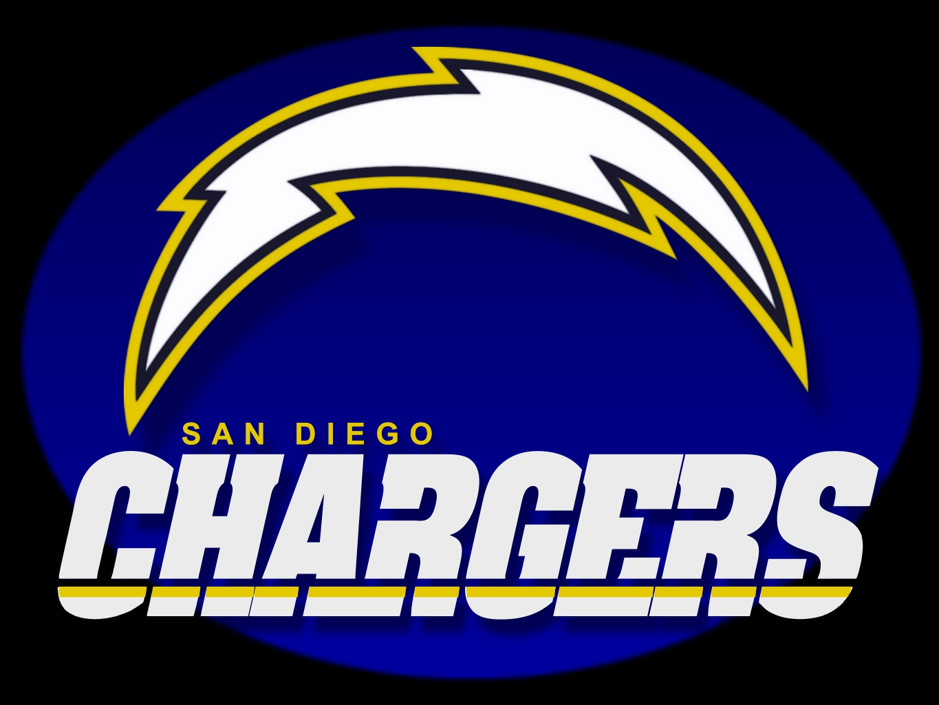 San Diego Chargers My Hometown Nfl Football Team
