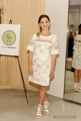 Sarah at Rebecca Taylor's Little White Dress Collection Launch, LA (June 12th, 2014)