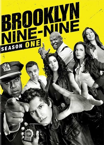 Brooklyn Nine-Nine پیپر وال with عملی حکمت entitled Season 1 DVD Cover