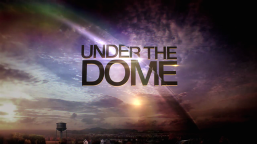 Under The Dome 壁紙 probably with a sunset entitled Season 2 Logo