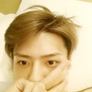 Sehun 140704 Instagram Update: Goodnight😪