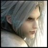 Final कल्पना VII चित्र with a portrait entitled Sephiroth आइकन
