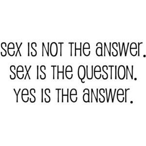 Sex...........