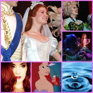 Sierra Boggess/Ariel on Broadway collage