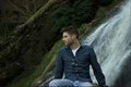Sitting by the waterfall - colm-keegan photo