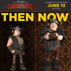 Snotlout Then and Now