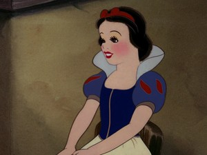 Snow White's eagerness look