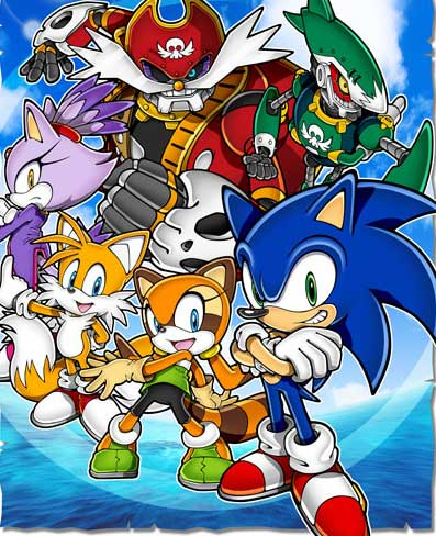 Sonic Rush Images Sonic Rush Adventure Wallpaper And Background